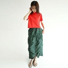 drape forming shirring skirts (3colors)_(1279609)