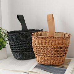 Rattan City Basket Bag - 어깨끈 포함