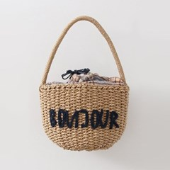 Rattan Hello Basket Bag