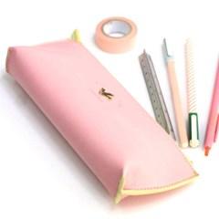 스티치 펜슬케이스 Baby pink