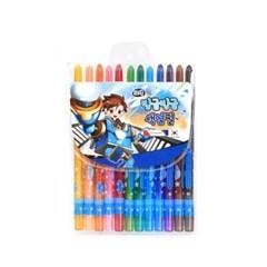4000 빙글빙글 색연필 (12색/남)_(2614663)