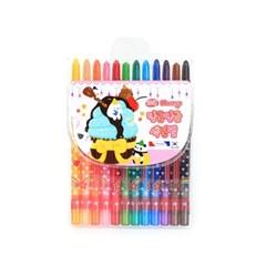 4000 빙글빙글 색연필 (12색/여)_(2614662)