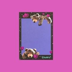 MEMO PAD_M_LOVE BEAR