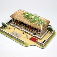 3D입체퍼즐 한국의 전통가옥 초가 [CK012]_(917674)
