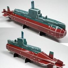 3D입체퍼즐 비밀병기 잠수함 [CK009]_(917671)