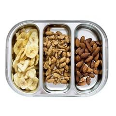 스텐 3구나눔 다이어트식판 아기식판 유아식판