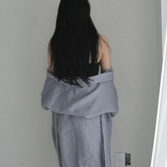 French linen Robe. sora