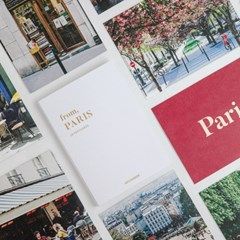 HITCHHIKER from, PARIS postcard book