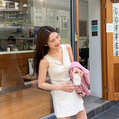 Nicole button knit sleeveless_K_(1345882)