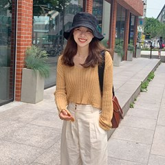 Summer golgi v-neck knit_B_(1345880)