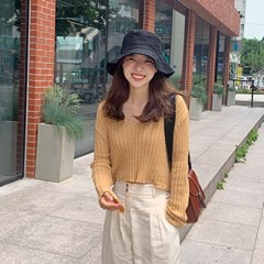 Linen post bucket hat_B (린넨 100%)_(1345909)