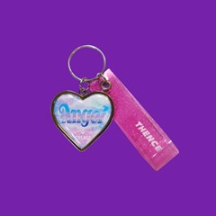 HEART STEEL KEY HOLDER_ANGEL