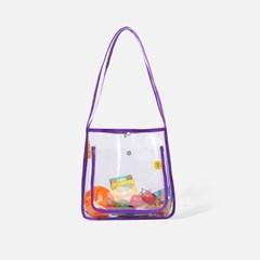 DAY DAY BAG PVC Purple