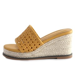 kami et muse Knoted top espadrille wedge heel slippers_KM19s247