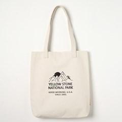 에코백 MOUNT CANVAS BAG -YS2094IM /IVORY