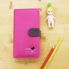 Bird wallet Pink