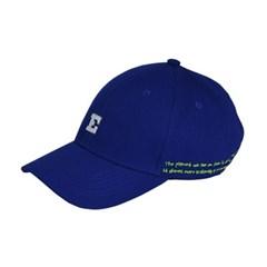 아플리케 로고 볼캡 BLUE