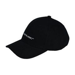 로고 볼캡 BLACK