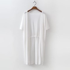 Linen Cotton Summer Cardigan