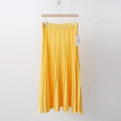 Hoega Linen Pleats Long Skirt