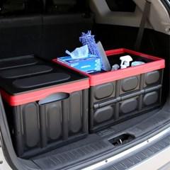 캠핑낚시 정리 보냉 방수팩 커버 55L 폴딩 트렁크박스_(1035619)