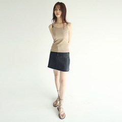 damaged detail mini skirts (3colors)_(1282106)