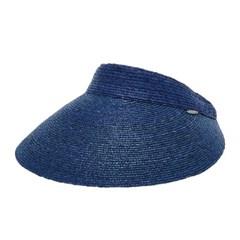 [더그레이]PJP01.이지밴드 밀짚 썬캡 여성 비치 모자