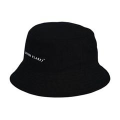 로고 버킷햇 BLACK
