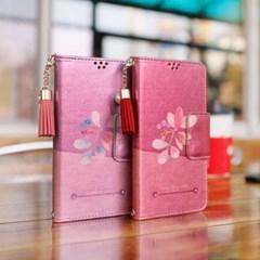 LG X6 2019 (LG X625) Perla-QChasse-T 수제 지갑 다이어리 케이스