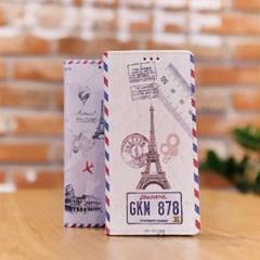 LG X6 2019 (LG X625) Ventosa-Travel 수제 지갑 다이어리 케이스