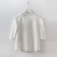 Linen Puff Blouse