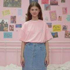 Flower point tshirt-pink_(1183534)