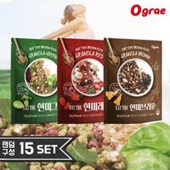 [무료배송] 오그래 잇더현미 3종 다이어트 시리얼 15봉 SET