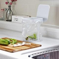 [The Flat74] 음식물 쓰레기 비닐봉지 거치대 / 음식쓰레기통