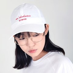 Olympiad Logo Embroidery Cap_white
