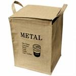 쥬트 사각 분리수거함 - 메탈
