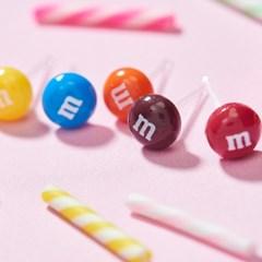 미니 M&M 엠엔엠즈5 귀걸이