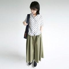 stich long vintage skirts (khaki)_(1282733)