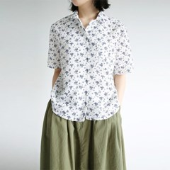 flower seersucker blouse (3colors)_(1282730)