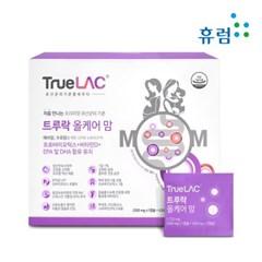 트루락 올케어 맘 임산부 유산균 식물성 오메가3 비타민D 1박스