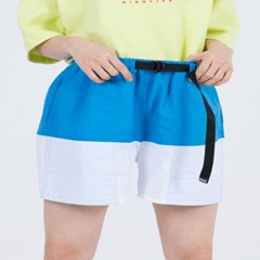 NYLON COLOR SHORTS (BLUE)_(400984887)