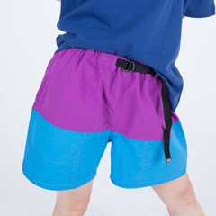 NYLON COLOR SHORTS (PURPLE)_(400984886)