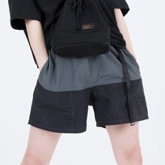 NYLON COLOR SHORTS (BLACK)_(400984885)