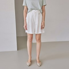 SILKY BT POINT SHORTS_IVORY