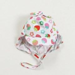 딸기 아동 수영모자
