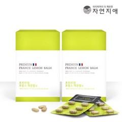 자연지애 프리미엄 프랑스 레몬밤 정 500mg x 120정 / 2_(2619820)