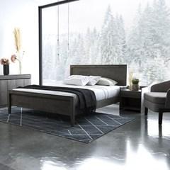 [DANJAM] 단잠 디프 원목 침대,본넬매트(Q)