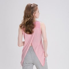 모달 슬리브리스 민소매 DFW5025 핑크