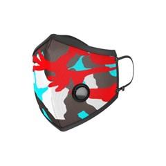 a pury CAMO MASK RED 레드 패션 마스크 에이퓨리_(1176942)