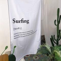 서핑이즈 대형 비치타올 90x150cm 극세사타올